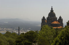 Santa Luzia basilic. Viana font   Photos libres de droits