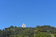 Santa Luzia Sanctuary, Viana do Castelo, fotografia stock