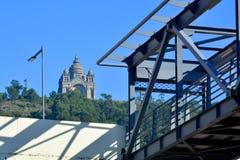 Santa Luzia a Viana do Castelo immagini stock libere da diritti