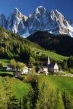 Santa Maddalena village Stock Images