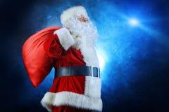 Santa magique Photographie stock libre de droits