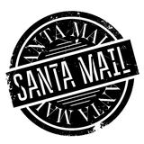 Santa Mail rubber stamp Royalty Free Stock Photography