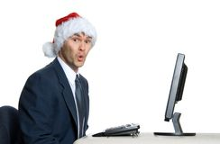 Santa man Stock Photo