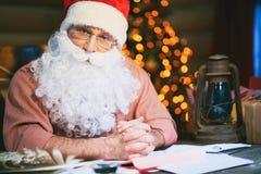 Santa man Royalty Free Stock Photo
