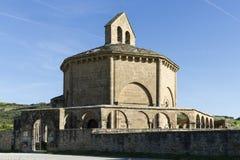 Santa María de Eunate Church. Stock Photos