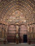 Santa María de los Reyes, Laguardia ( Basque Country ) Stock Image