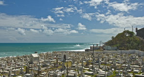 Santa marÃa Magdalena De Pazzis Cmentarz, San Juan, Puerto Rico Zdjęcia Stock