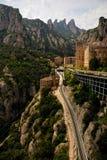 Santa María de Montserrat Fotos de archivo libres de regalías