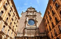 Santa María de Montserrat Fotografía de archivo libre de regalías