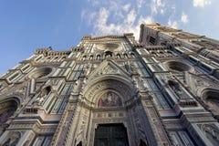 Santa María del Fiore Cathedral en Florencia Imágenes de archivo libres de regalías