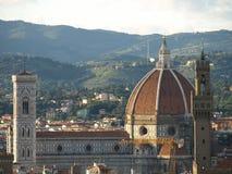 Santa María del Fiore en Florencia Imágenes de archivo libres de regalías