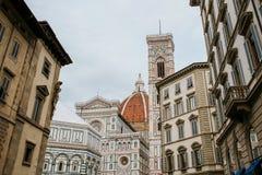 Santa María del Fiore en Florencia Fotos de archivo libres de regalías