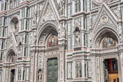 Santa María del Fiore en Florencia, Italia Imagen de archivo libre de regalías