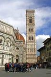Santa María Del Fiore, Florencia imagenes de archivo
