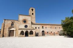 Santa María di Propezzano Imágenes de archivo libres de regalías