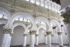 Santa María la Blanca Synagogue, Spain Stock Photography
