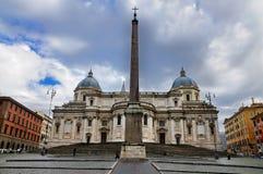 Santa María Maggiore Imágenes de archivo libres de regalías