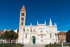 Santa María de La Antigua, Valladolid Stock Photography