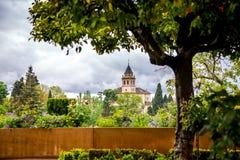 Santa María de Alhambra, Granda Stock Photos