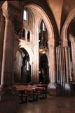 Santa María la Real de Covadonga, Cangas de Onís, Spain Stock Image