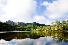 Santa Margarita Lake Stock Photo