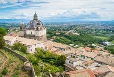 Santa Margherita Basilica in Montefiascone, Provinz von Viterbo, Lazio, Mittel-Italien Stockfotos