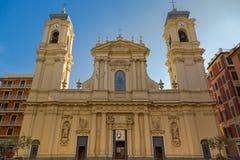 Santa Margherita Church (Basiliek van Santa Margherita van Antioch Royalty-vrije Stock Foto's