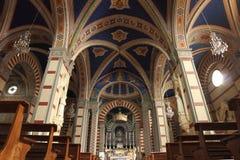Santa Margherita in Cortona, Italien lizenzfreies stockbild