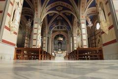 Santa Margherita in Cortona, Italy Royalty Free Stock Images