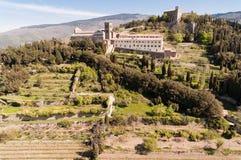 Santa Margherita in Cortona, Toscanië - Italië royalty-vrije stock foto's