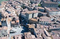 Santa Margherita en Cortona Fotografía de archivo