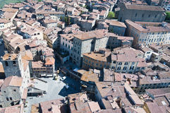 Santa Margherita i Cortona Arkivbild