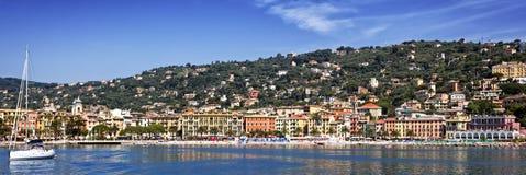 Santa Margherita, Italian Reviera Stock Photography