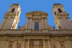 Santa Margherita kościół (bazylika Santa Margherita Antiochia) Zdjęcia Stock