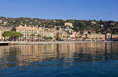 Santa Margherita Ligure Foto de Stock Royalty Free