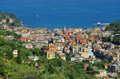 Santa Margherita Ligure Fotografie Stock