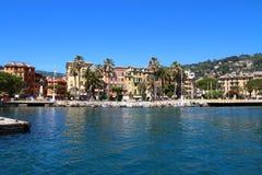Santa Margherita Ligure, emplacement italien célèbre de station de vacances Photos stock