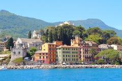 Santa Margherita Ligure, emplacement italien célèbre de station de vacances Photographie stock