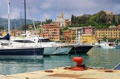 Santa Margherita Ligure Harbour Immagini Stock