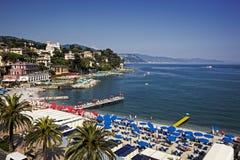 Santa Margherita Ligure, Italian Reviera Stock Photos