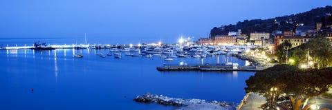 Santa Margherita Ligure italienare Reviera Fotografering för Bildbyråer