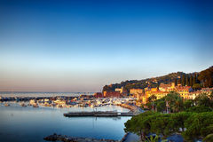 Santa Margherita Ligure, Italiener Reviera lizenzfreies stockbild
