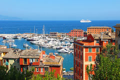 Santa Margherita Ligure, Italy imagens de stock
