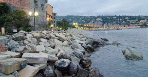 Santa Margherita Ligure, Italy. Detail of Santa Margherita Ligure, Italy Royalty Free Stock Photo