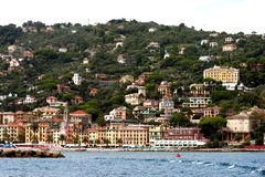 Santa Margherita Ligure, Liguria, Italy. Santa Margherita Ligure,a beautiful city on the Mediterranean coast Stock Photo