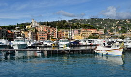 Santa Margherita Ligure, Liguria, Italy Royalty Free Stock Photos