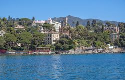 Santa Margherita Ligure near Portofino,Liguria,Italy Stock Photos