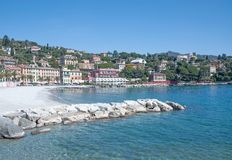 Santa Margherita Ligure near Portofino,Liguria,Italy Royalty Free Stock Photo