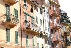 Santa Margherita Ligure, promenade Stock Photo