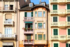 Santa Margherita Ligure, promenade Stock Photography